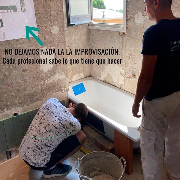Obras de reforma limpias, profesionales, organizadas y económicas en Barcelona con Energy Storm